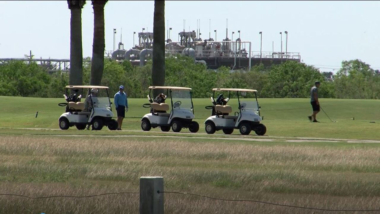 City's golf courses remain open despite being identified as nonessential by County