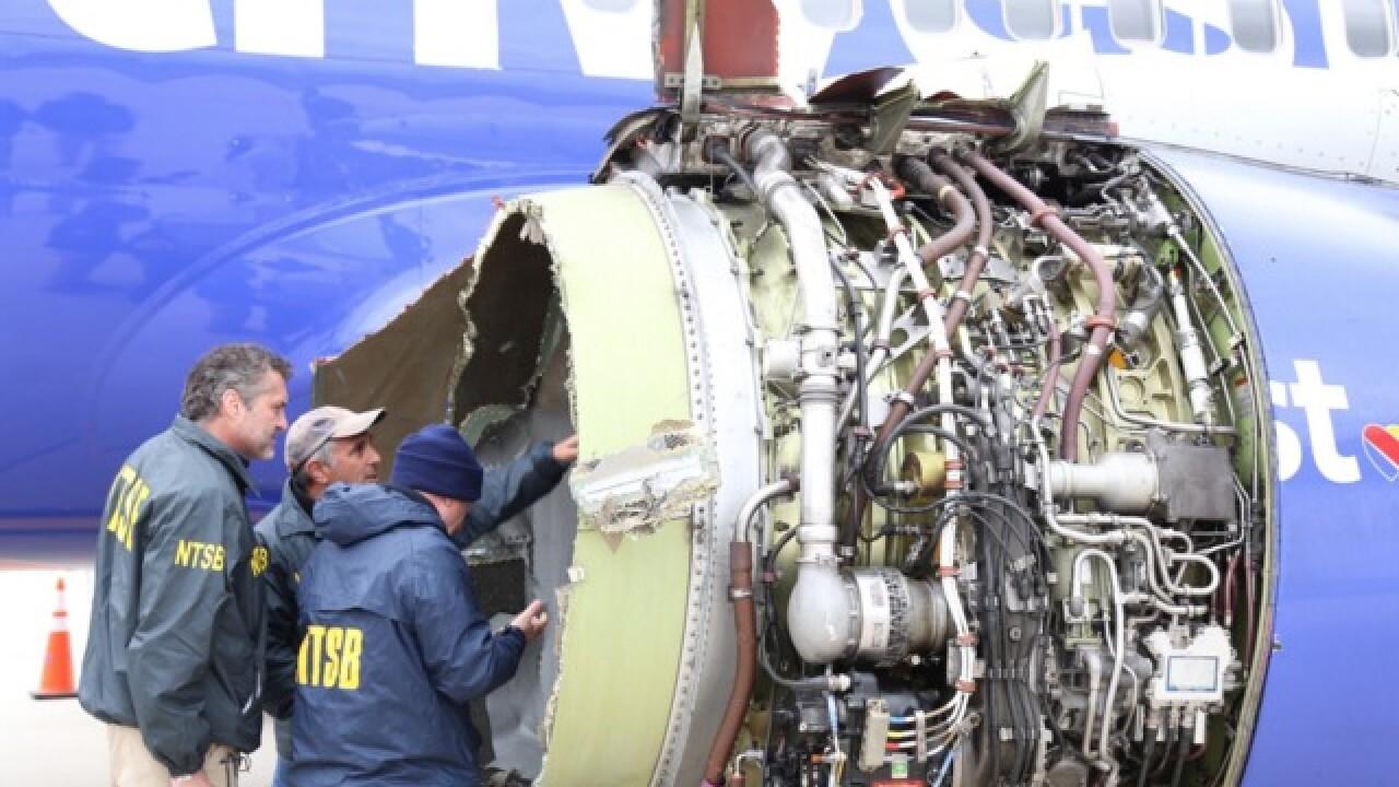 1 dead after Southwest emergency landing in Pa.