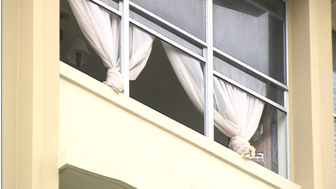 No air conditioning after high-rise fire in downtown West Palm Beach
