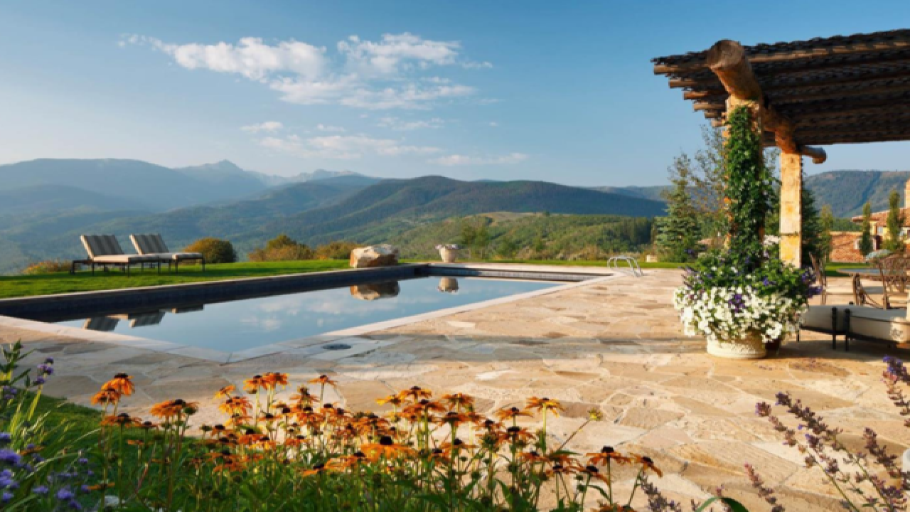 Extreme Homes of Colorado: Vail Valley mountain top home on