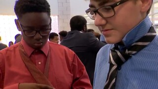 Young Men Of Valor Program Held For 8th Graders