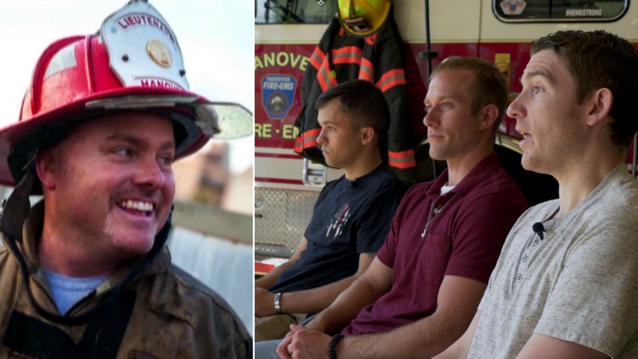 Injured firefighters honor fallen leader who saved their lives: 'He warnedus'