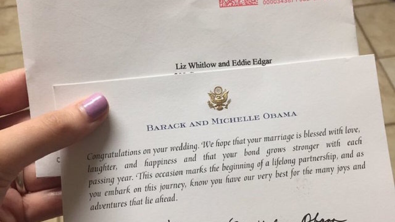 Obama still responds to wedding invitations, other notes