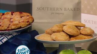Southern Baked Pie Company's Apple Football Hand Pies