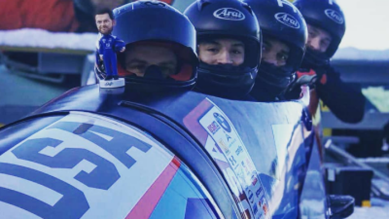 Virginia man joins 2018 U.S. Olympic men's bobsled team