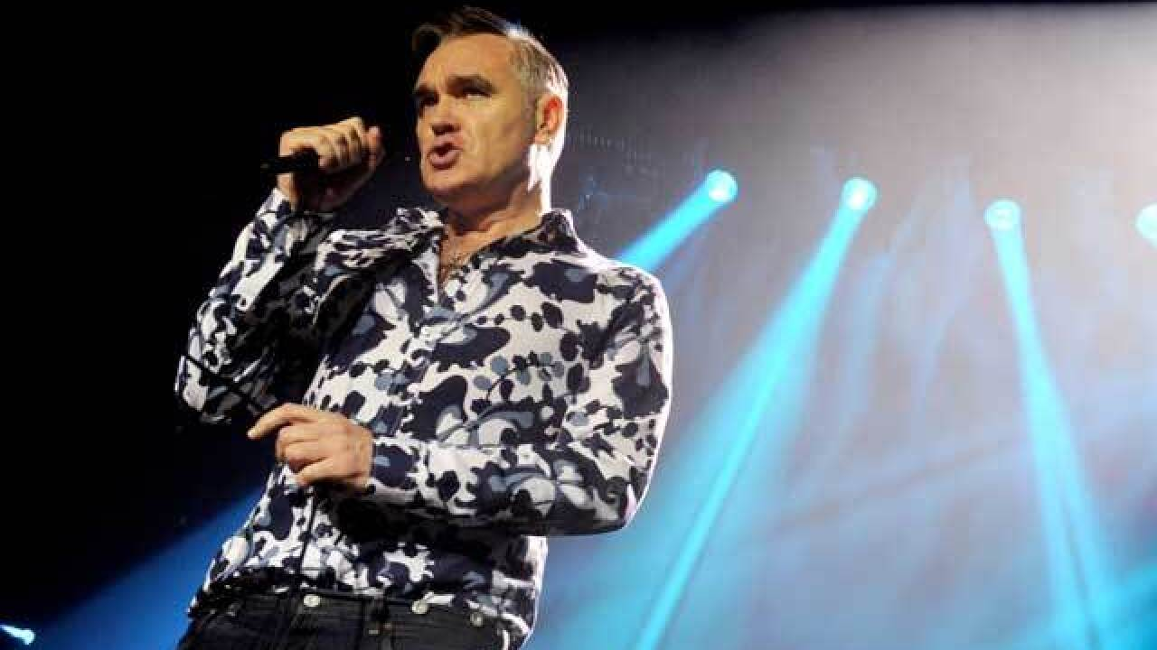 Morrissey attacked on stage while performing in San Diego
