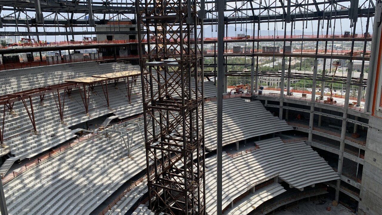 MSG Sphere making progress in Las Vegas, on schedule for 2023 opening