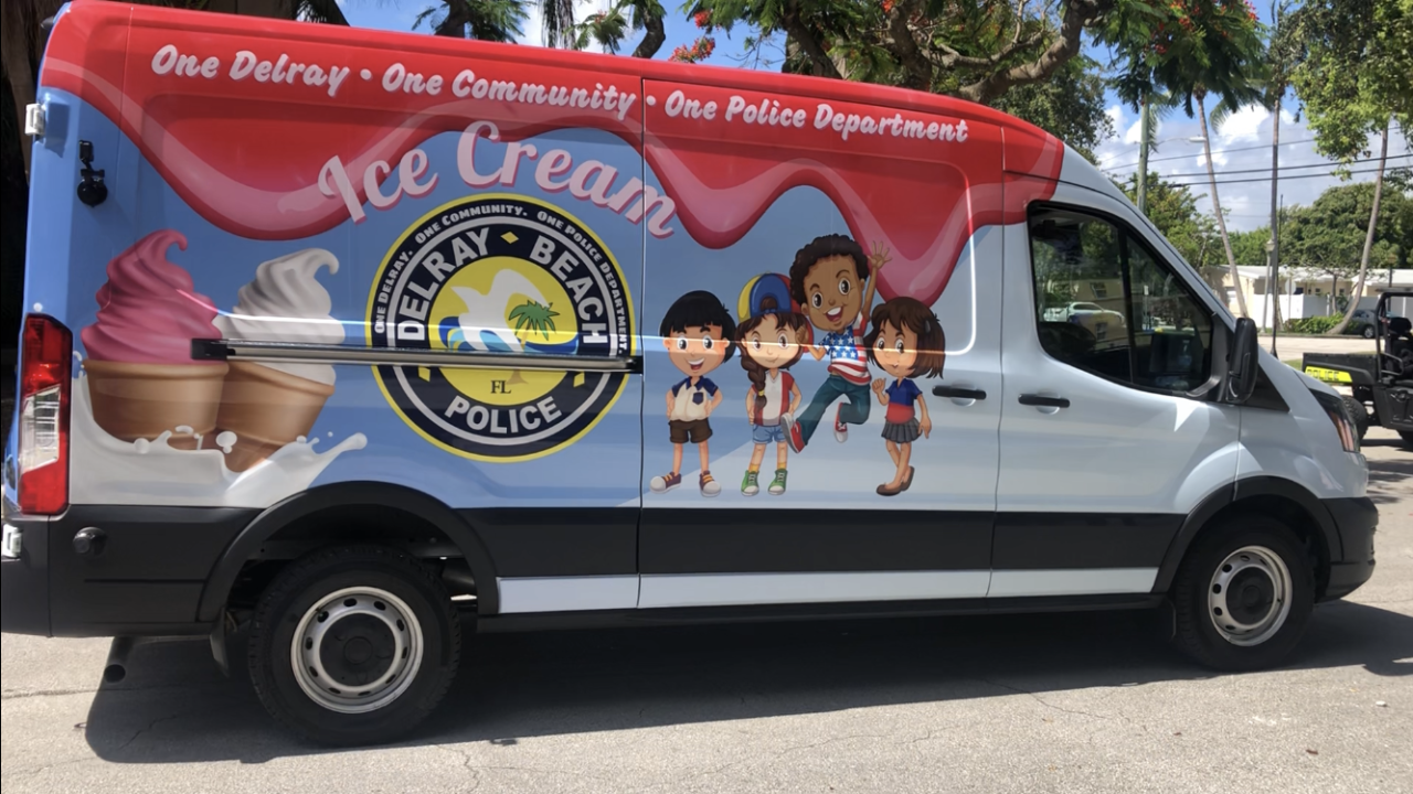 On Thursday, the department unveiled a new ice cream truck that will be used at events and in neighborhoods to hand out free ice cream.