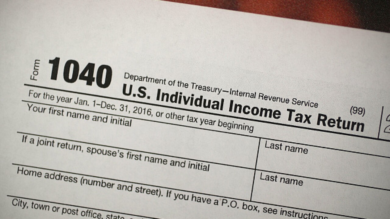 Average tax refund down 8-percent this season