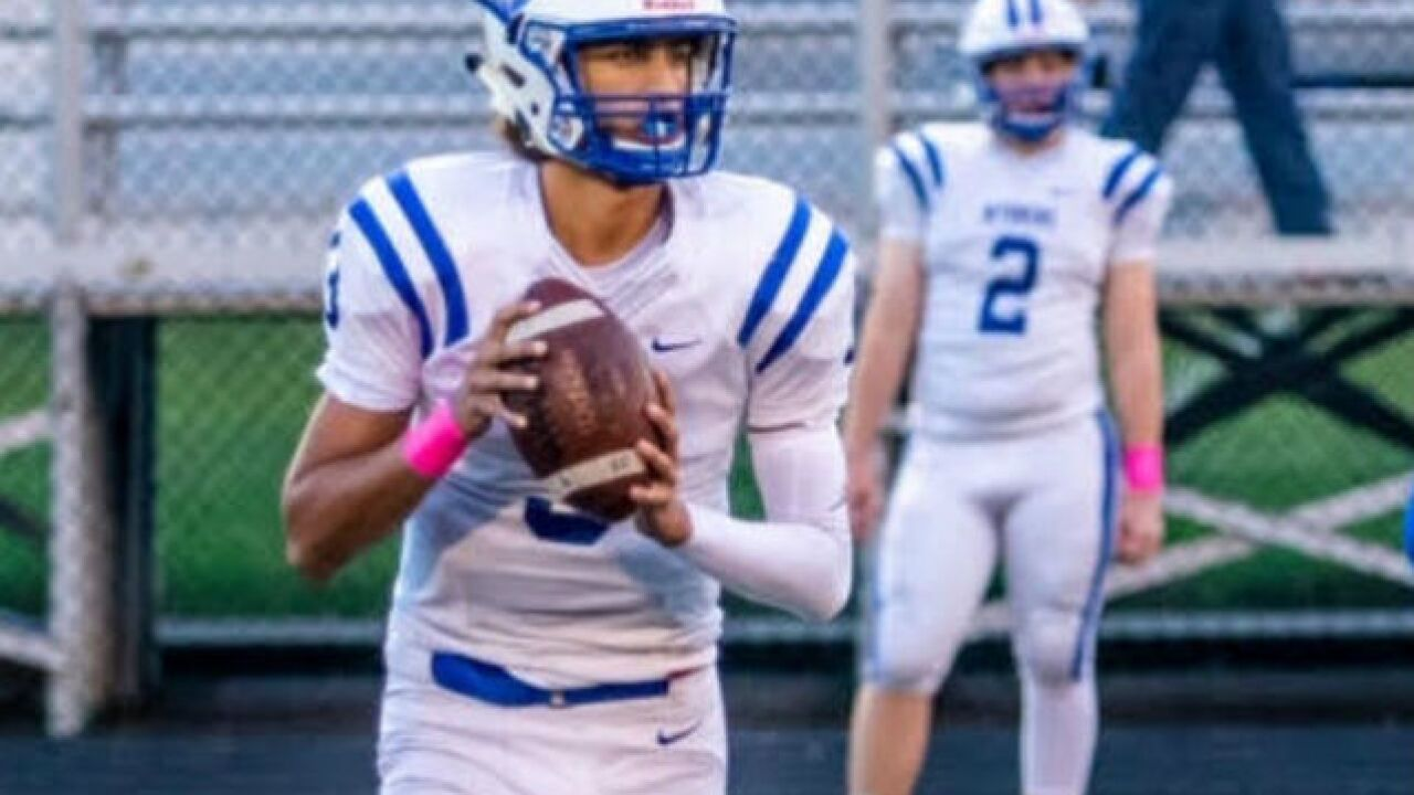 best loved b44a0 0e4a3 Wyoming junior QB Evan Prater has helped lead the Cowboys to ...