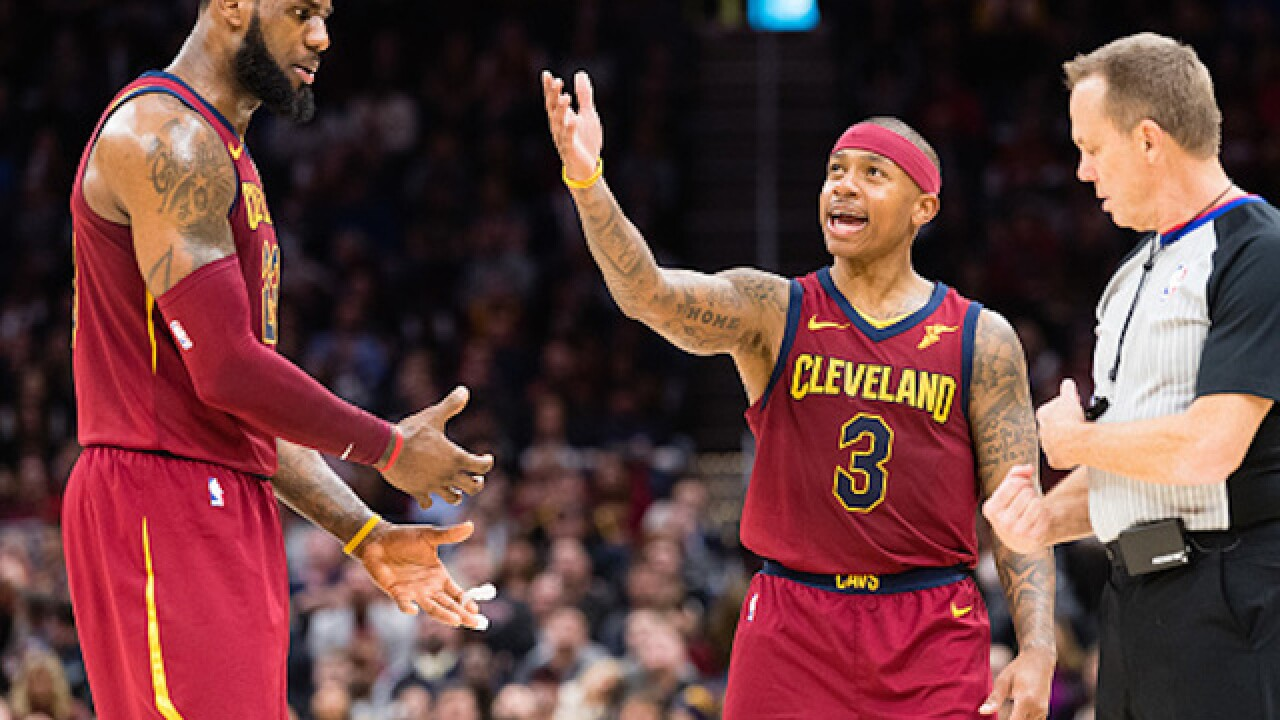 15a2ab2a607b Cleveland Cavaliers trade a third of its roster in just over an hour in  wild NBA trade deadline
