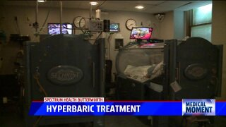 Medical Moment: Spectrum Health's 24/7 hyperbaric treatments for CO poisoning
