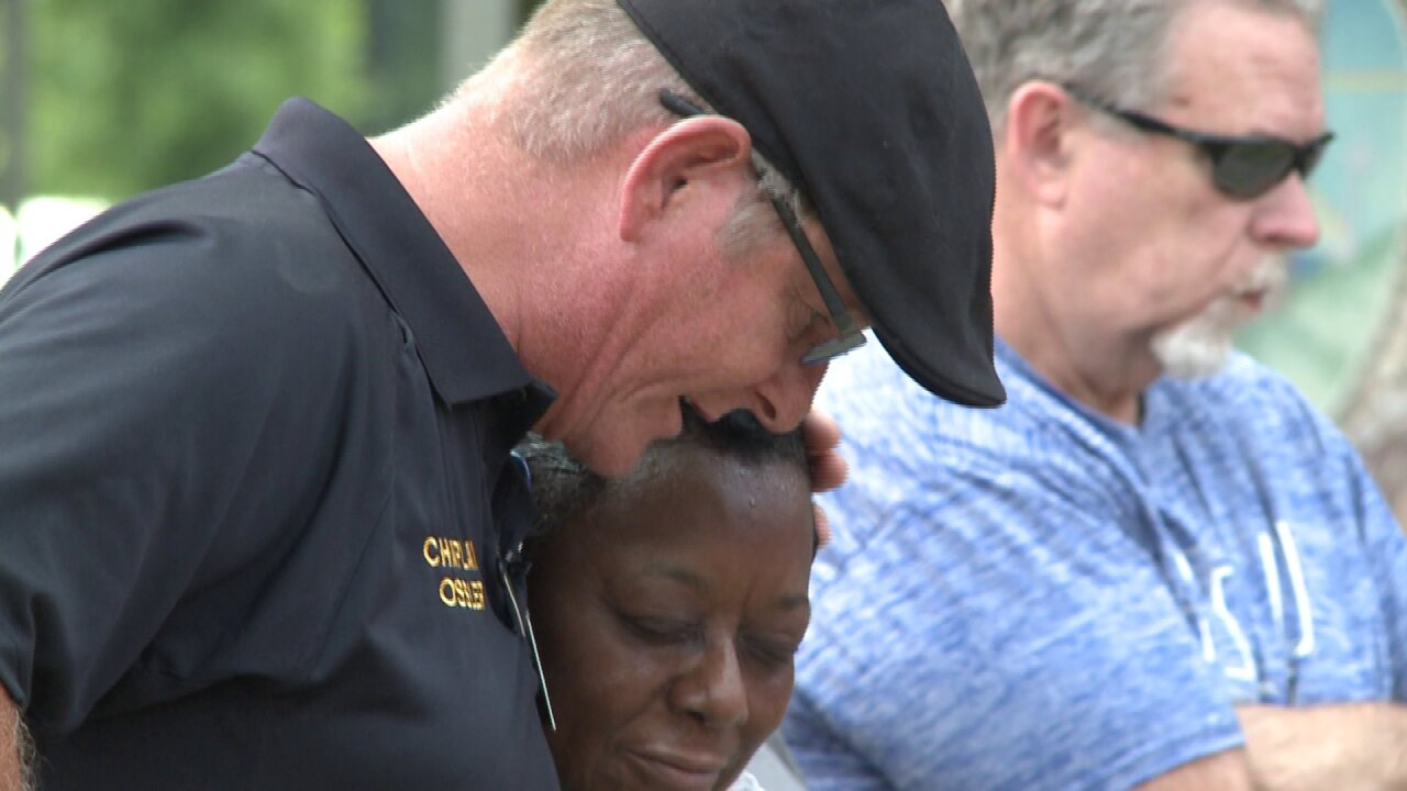 Visiting police chaplain offers comfort and solace for the people of VirginiaBeach