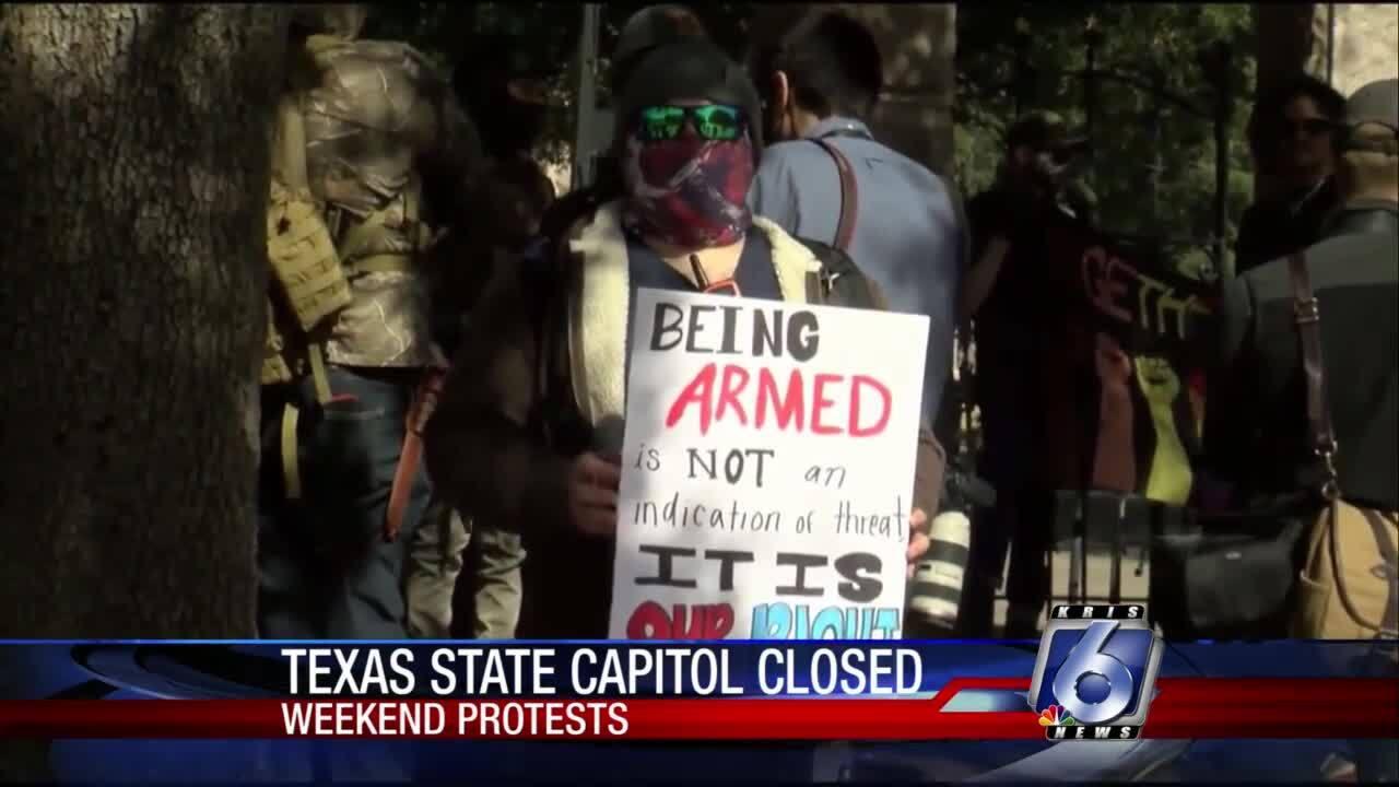 Austin capitol demonstrations