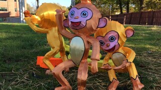 PHOTOS: Preps for Indiana Chinese Lantern Festival at State Fairgrounds