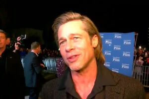 Brad Pitt honored at the Santa Barbara International Film Festival Tonight