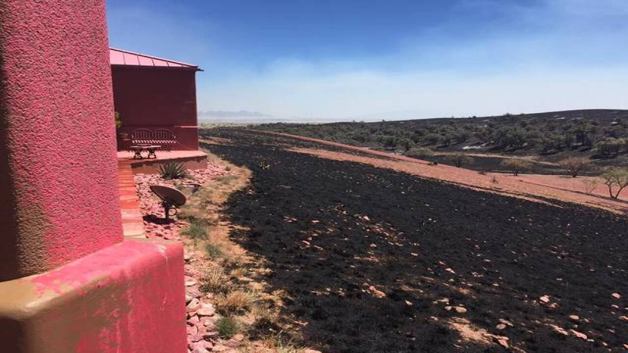 More than 160 evacuated because of Sawmill Fire