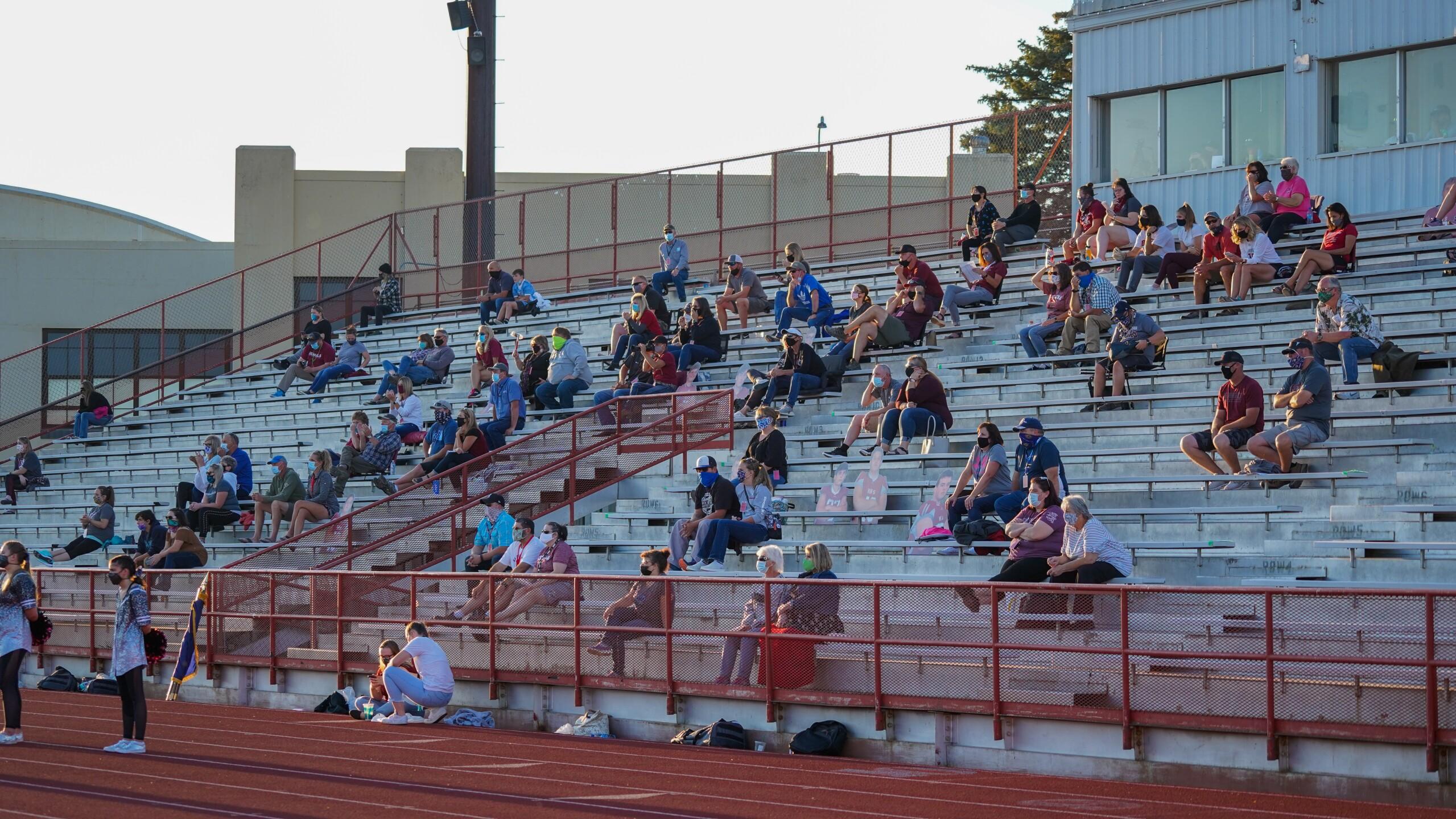 Helena High football fans