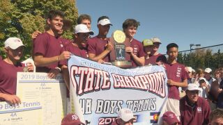 Cheyenne Mountain boys tennis capture 4A state title