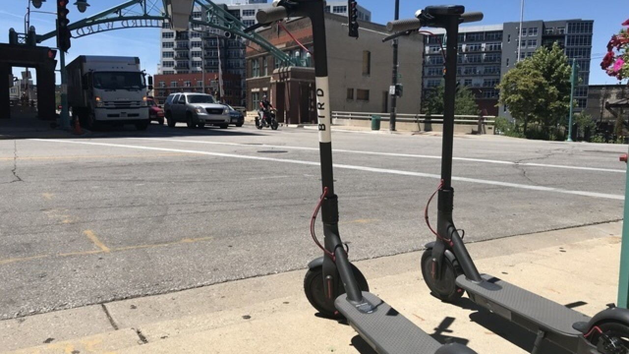 Bird takes back scooters from Milwaukee