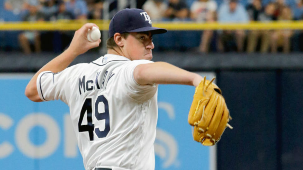 Brendan McKay takes perfect game into the 6th inning, Tampa Bay Rays