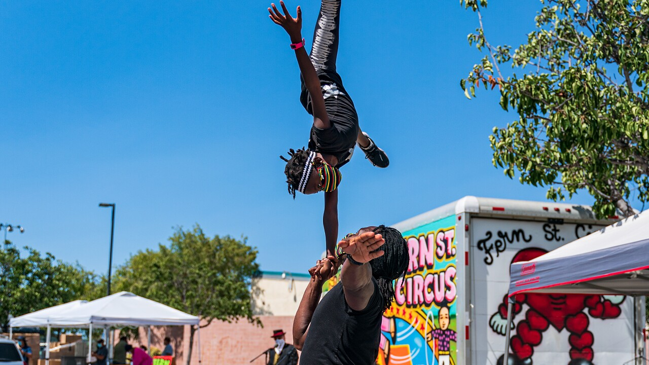 Fern Street Circus hosting free shows for kids