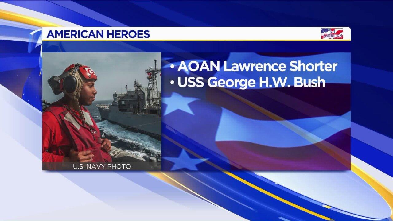 American Heroes: LawrenceShorter