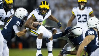 Michigan fights back but falls to Penn State 28-21 in Happy Valley