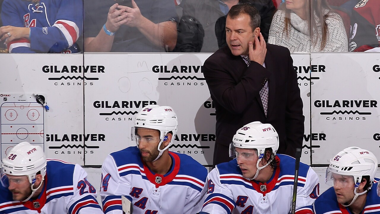 Alain Vigneault a name the Sabres could consider as they search for a new head coach