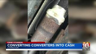 Crime Stoppers: Thieves Could Convert Converters Into Cash