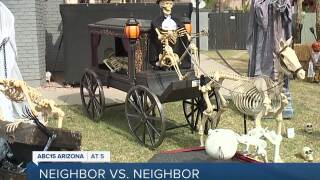 Valley neighbors bring community together through Halloween decoration competition