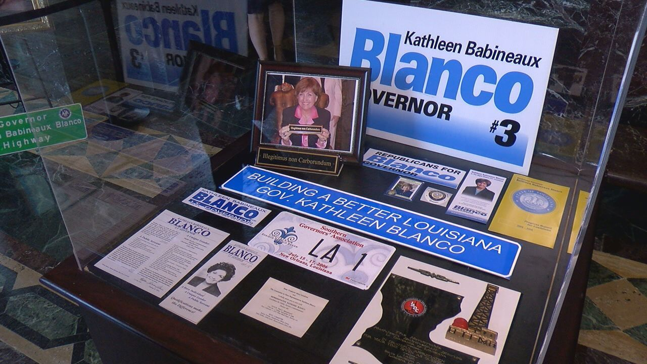Lawmakers Remember Governor Blanco.jpg