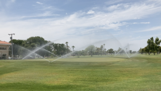Golf course water