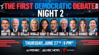 Another 10 Democratic candidates to take the debate stage tonight