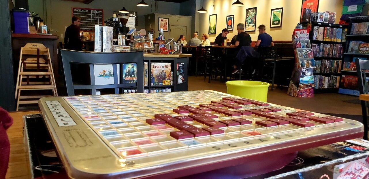 Spielbound Game Cafe