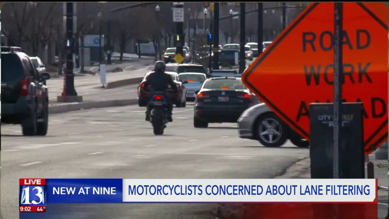 Motorcyclist voices road rage concerns over new 'lane filtering' law