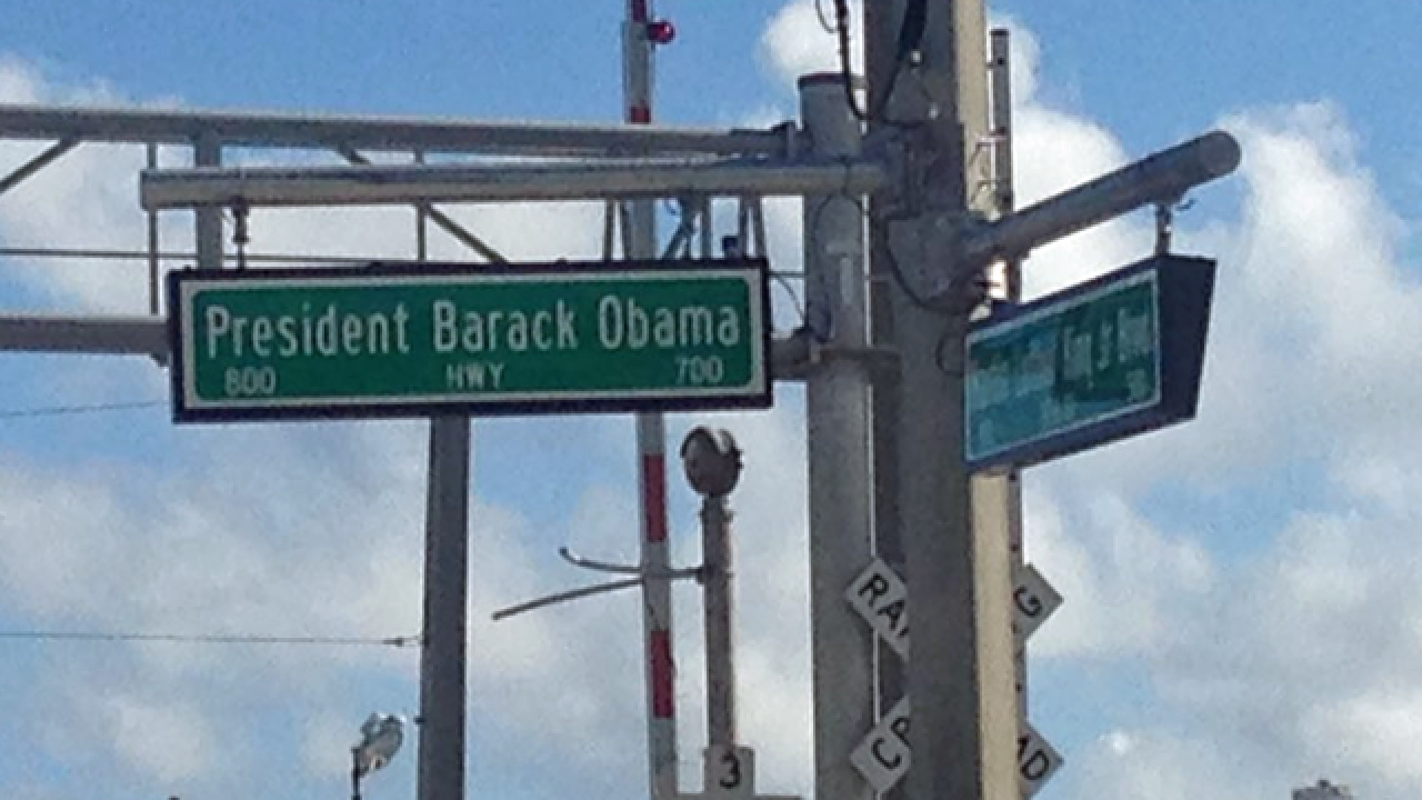 Old Dixie to become Barack Obama Way in Riviera