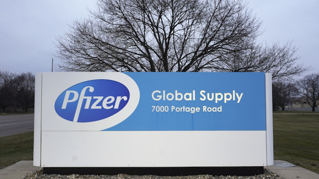 Virus Outbreak Pfizer Vaccine