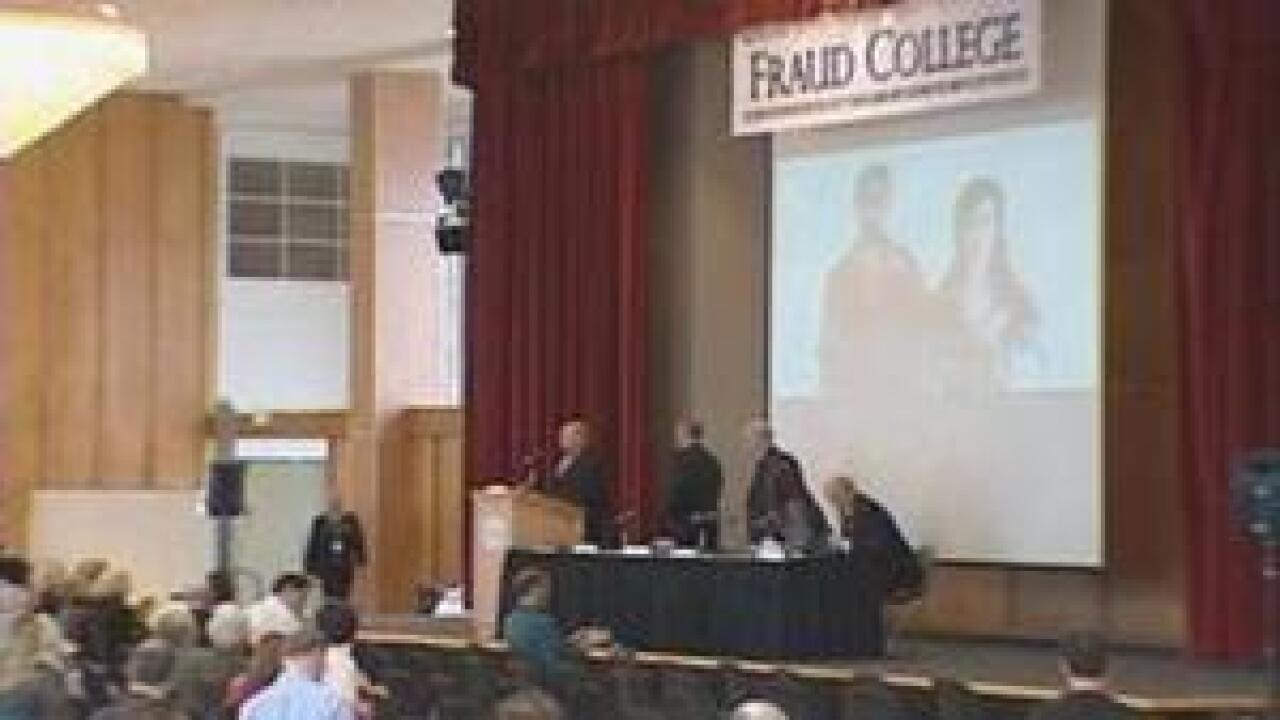 Fraud college aims to teach people how to avoid scams