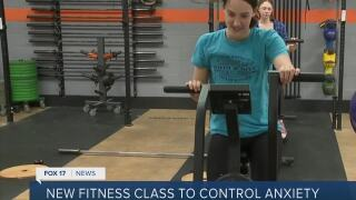 Fitness class helps deal with anxiety through movement