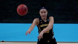Hailey Brown Michigan Tennessee NCAA Tournament
