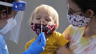 Record-high 61,000 children in U.S. tested positive for COVID last week