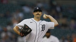 Tyler Alexander Tigers Baseball