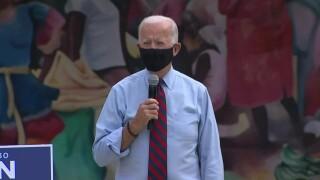 Joe Biden speaks in Little Haiti, Oct. 5, 2020