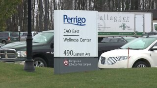 Grant secured to stabilize bluff on which Perrigo HQ sits