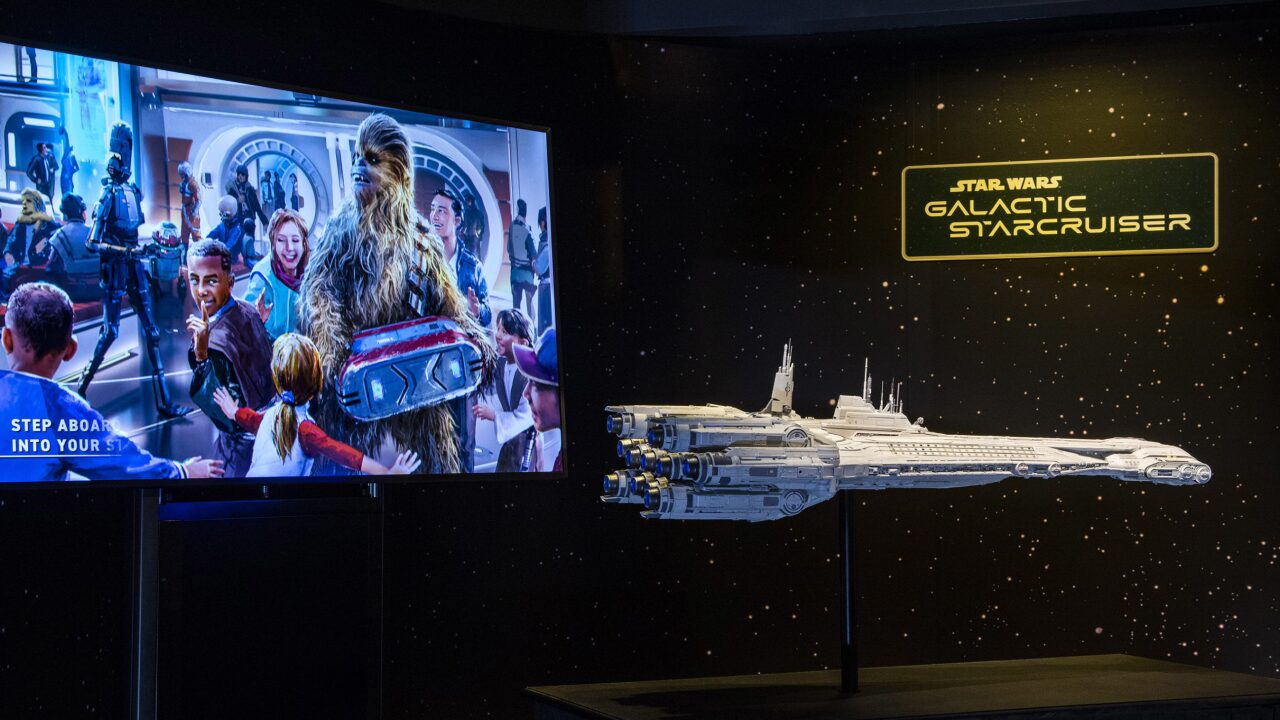 Star Wars: Galactic Starcruiser Model at Disney's Hollywood Stud