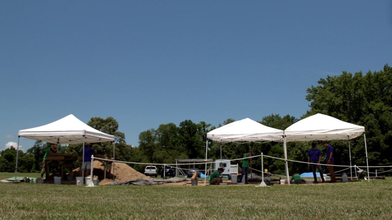 At 800 acres, Historic St. Mary's City is one of the largest ongoing archaeological digs in the country. They have been digging here for more than 50 years.