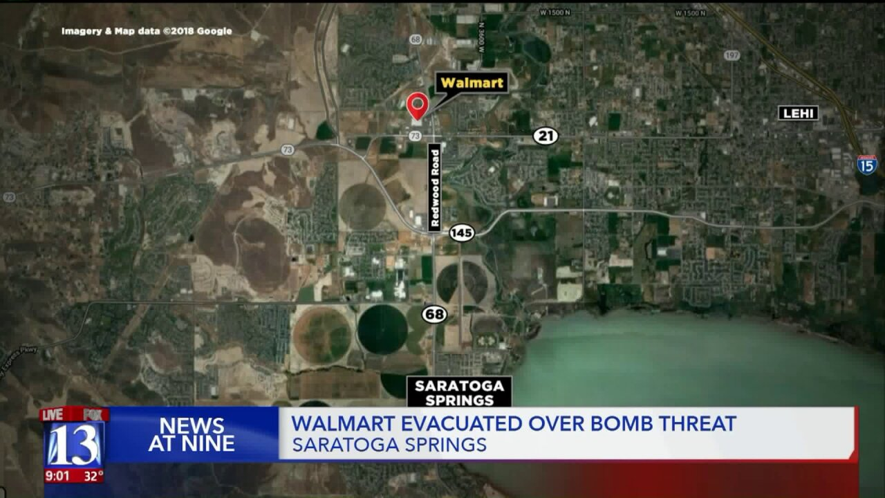 All-clear given after Walmart evacuated in SaratogaSprings