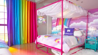 You Can Stay In A Decked-out Lisa Frank Hotel Room That's Like A Blast From The Past