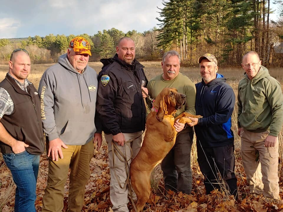 Photos: Centerville Police get new bloodhound